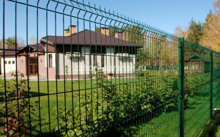 3д забор в Саранске