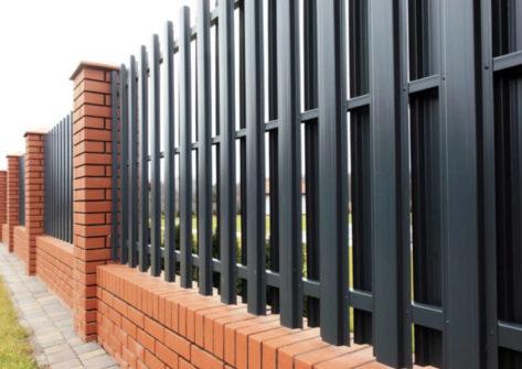 забор из евроштакетника цена в Саранске