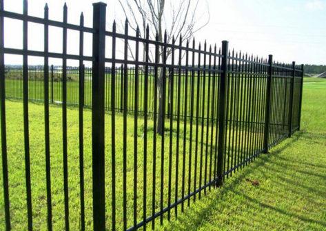 забор из профильной трубы в Саранске