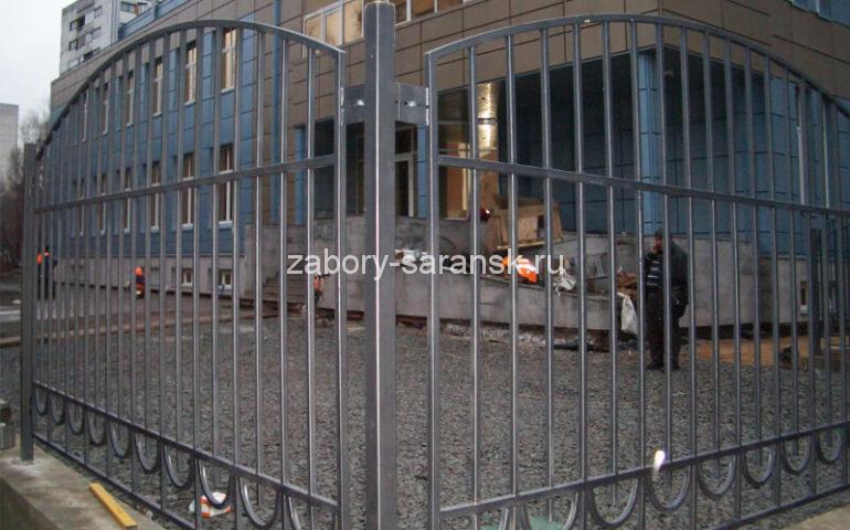 забор из профтрубы в Саранске